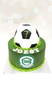 Fc Groningen taart voor Joest