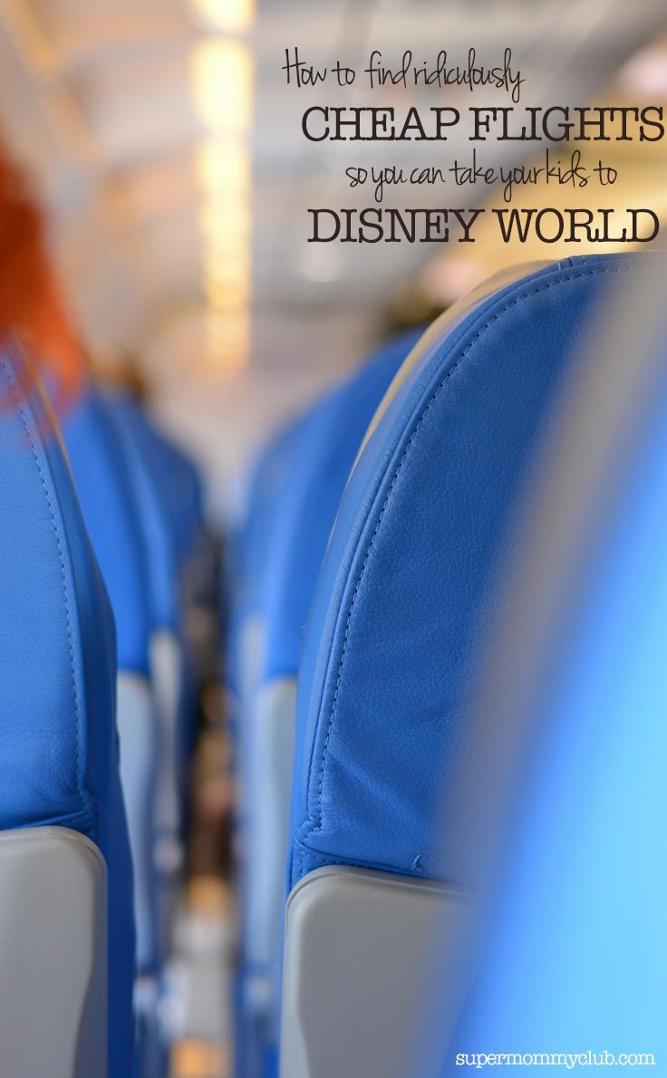 Looking to save money on your Disney Vacation? Then you'll want to check out these 5 tips to help you save on airfare!