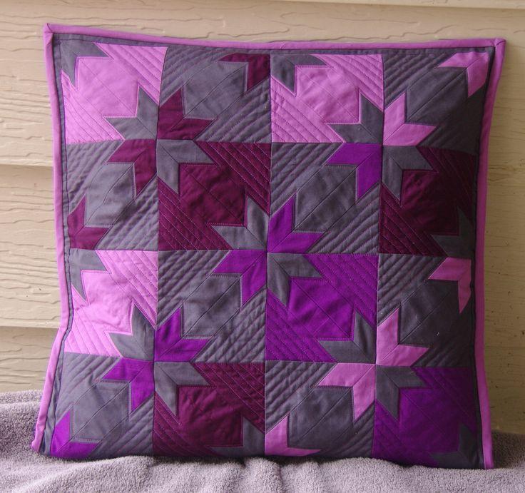 ber ideen zu patchwork kissen auf pinterest. Black Bedroom Furniture Sets. Home Design Ideas