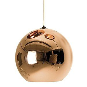 Click Image Above To Buy: Copper Shade Pendant By Tom Dixon