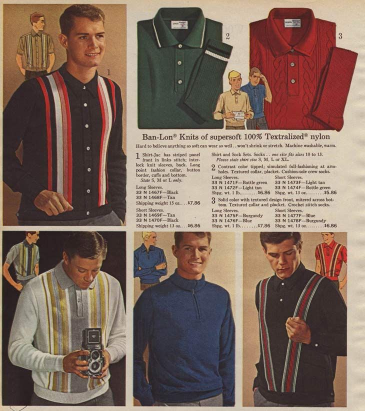 Men s Shirts from a 1964 catalog. 23 best 1960s  Men s Fashion Ads images on Pinterest   Fashion for