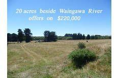 20 acres Carterton Masterton $220k