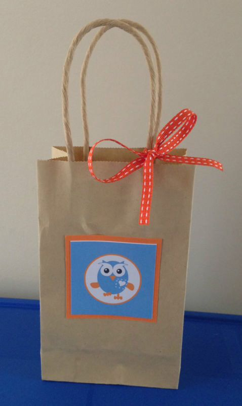 Giggle and hoot inspired favour bag