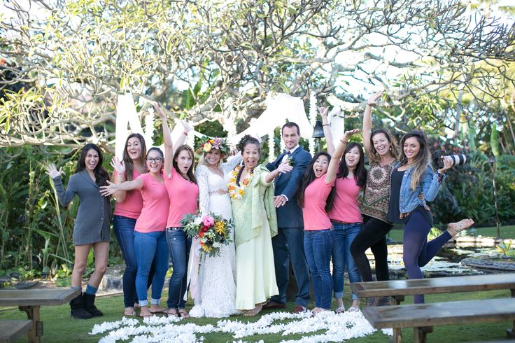 THE ABC TEAM WITH OUR AMAZING VENDORS! Jenna Lee Pictures, Kiahuna Plantation Resort, Officiant (Leihi'ilani Kirkpatrick). SO MUCH FUN!
