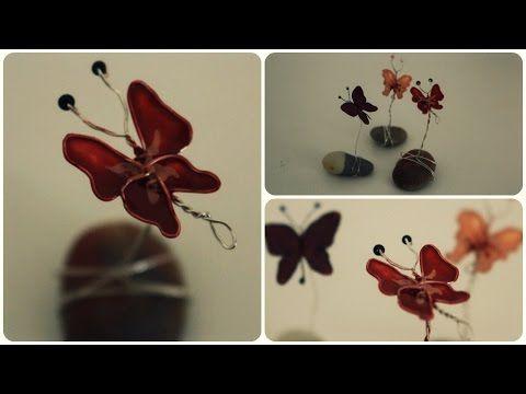 Nagellack Schneeglöckchen Tutorial – YouTube – Aus Teelichthülle