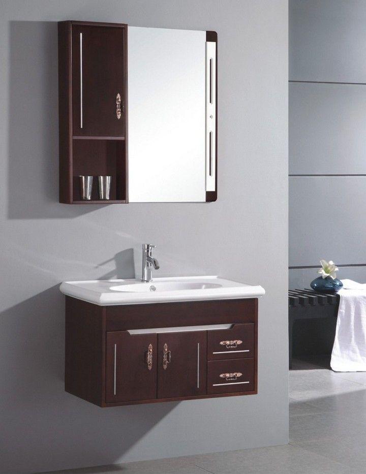 10 Floating Sink Cabinets And Bathroom Vanity Ideas Wall Mounted Bathroom Cabinets Small Bathroom Sinks Wooden Bathroom Vanity
