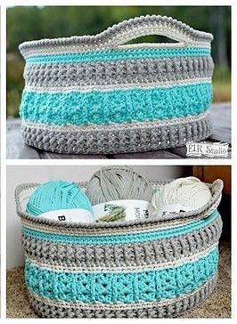 [Free Pattern] This Gorgeous Crochet Basket Will Make Your Home Extremely Awesome
