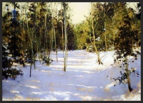 Dave Stout - Winter Solitude- Pastel - Painting entry - January 2015 | BoldBrush Painting Competition