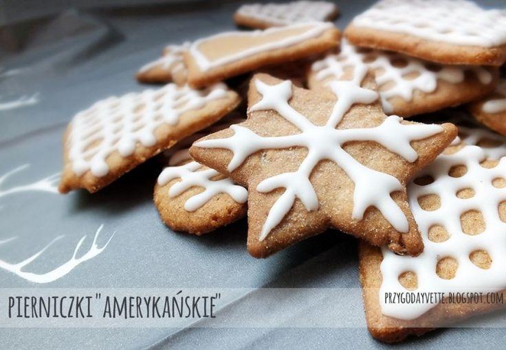 """Przepis na świąteczne pierniki - cienkie pierniczki """"amerykańskie"""""""