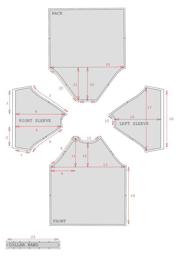DIY – PATRONNAGE T-SHIRT MANCHES RAGLAN |                                                                                                                                                      Plus