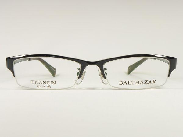 BALTHAZAR 118-3-54【ブラック】【チタン・ナイロール】メガネフレーム6,980円【楽天市場】