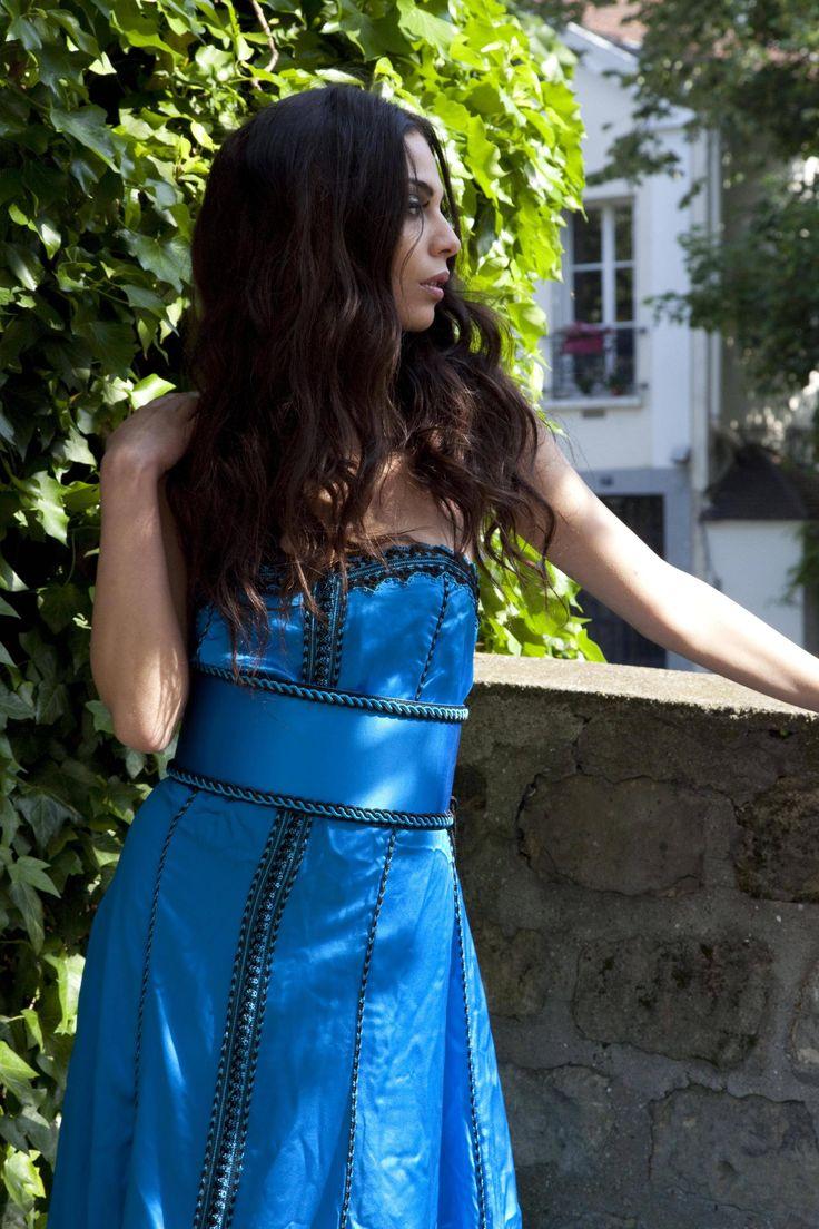 Caftan pour Fashion Maroc