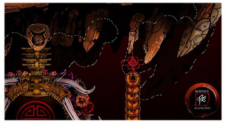 "Rodney Illustrations : ""Invincible Taurus"" Timelapse Digital Painting"