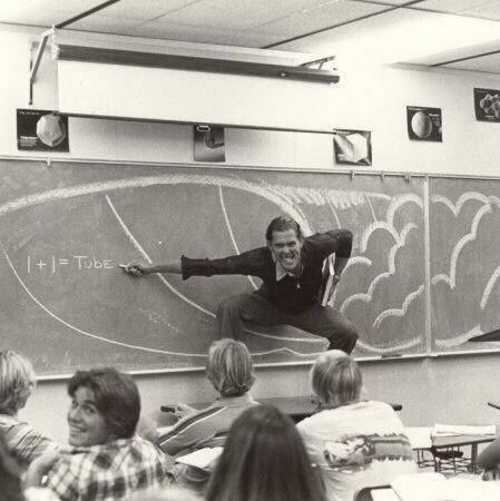« Mon père enseignant les maths en Californie du Sud (fin des années 1970/début des années 1980). »   23 photos qui prouvent que le style, c'était mieux avant