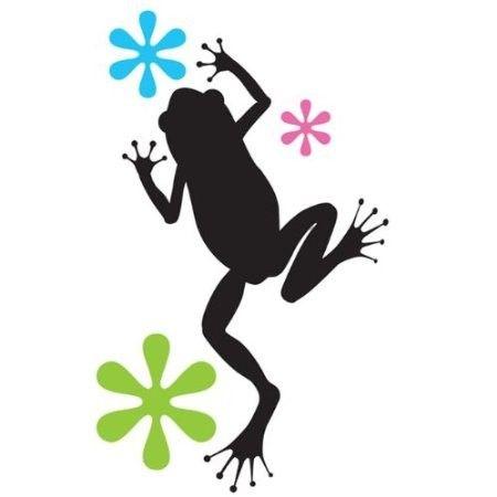 Stickers pour voiture grenouille croa croa