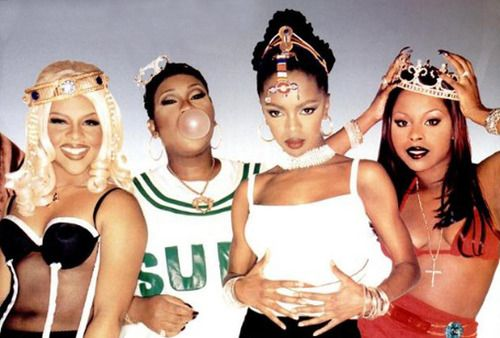 Lil kim, miss Elliot, lauryn hill, foxy brown