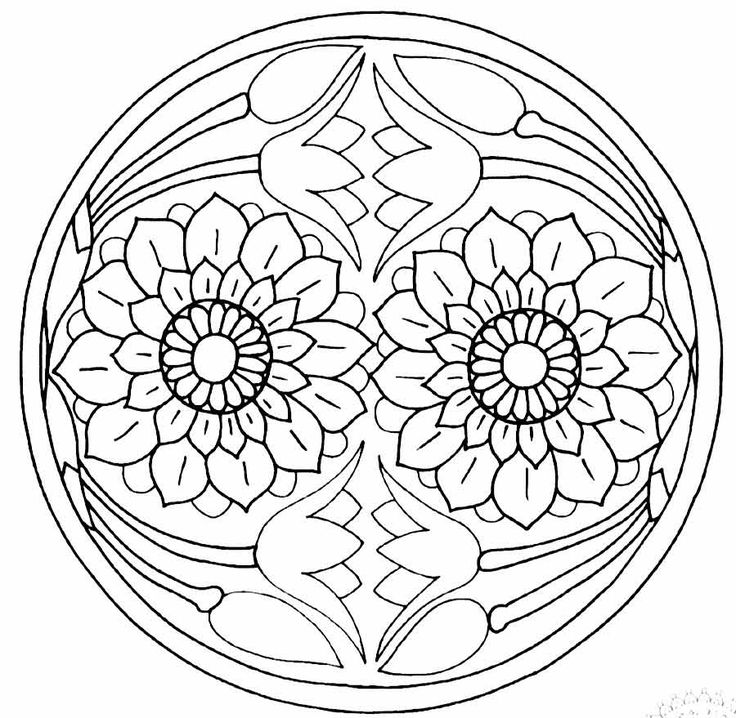 436 best Mandala\'s images on Pinterest