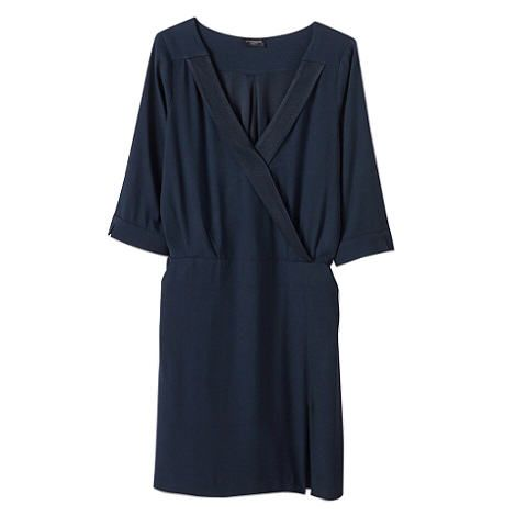 Robe smoking bleu marine - Cyrillus - env 90€