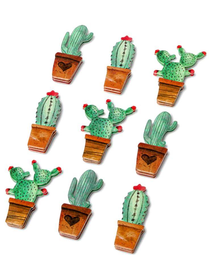 9 Adesivi in carta cactus. Scopri il maggior catalogo di addobbi e decorazioni per feste del web,  sempre al miglior prezzo!