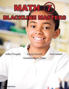 Math 7 Blackline Masters - clear, readable, reproducible lessons that teach every grade 7 math strand.