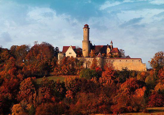 Altenburg Castle in Bamberg, Bavaria, Germany