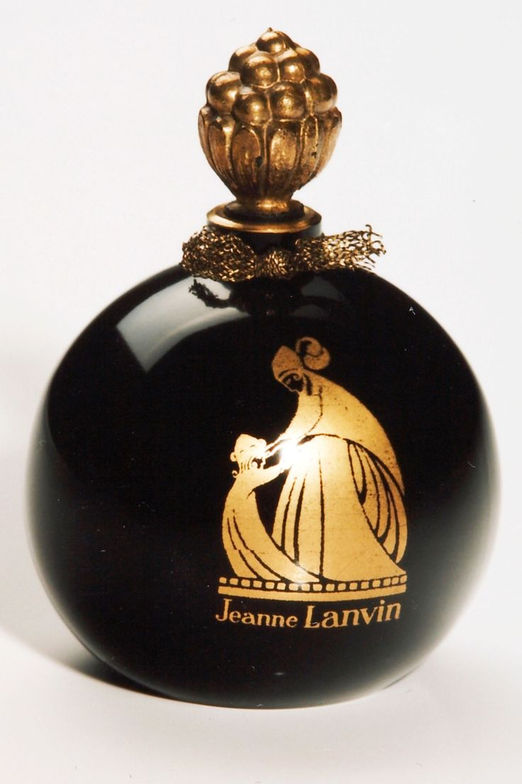 Lanvin celebrates 125 years   A perfume bottle from the house 1925   cynthia reccord