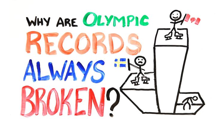 Why Are Olympic Records Always Broken? by AsapSCIENCE
