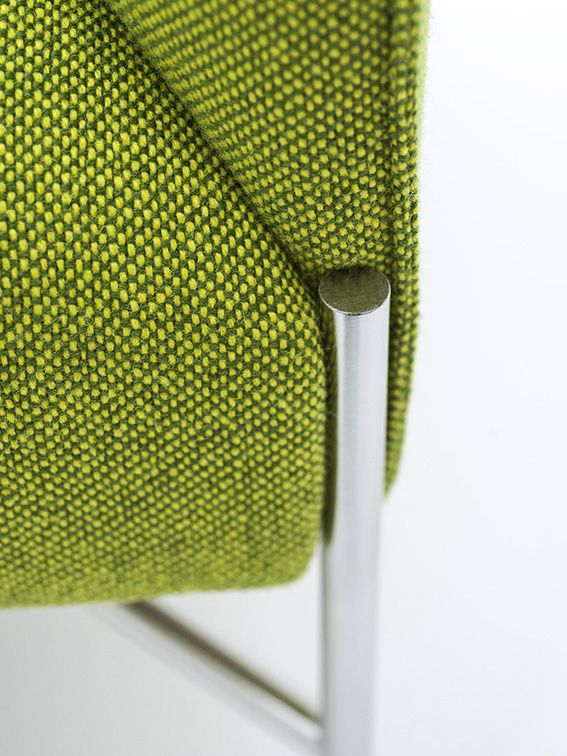 Upholstered fabric armchair with armrests Chill-Out Collection by Tacchini Italia Forniture | design Gordon Guillaumier