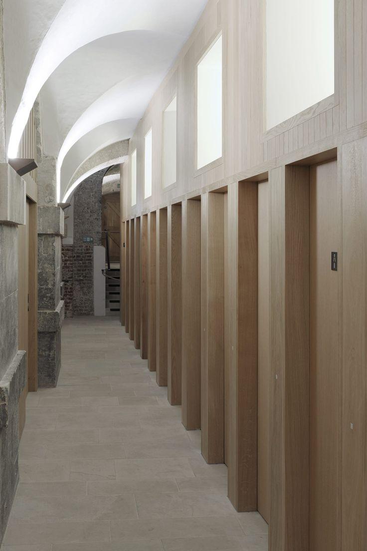 Dow Jones Architects, David Grandorge · Crypt redevelopment at Christ Church Spitalfields