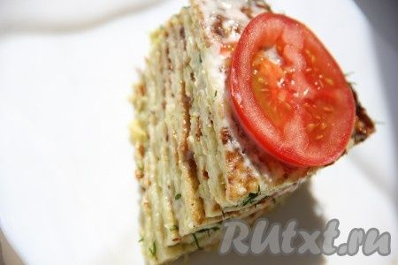 Рецепт торта из кабачков