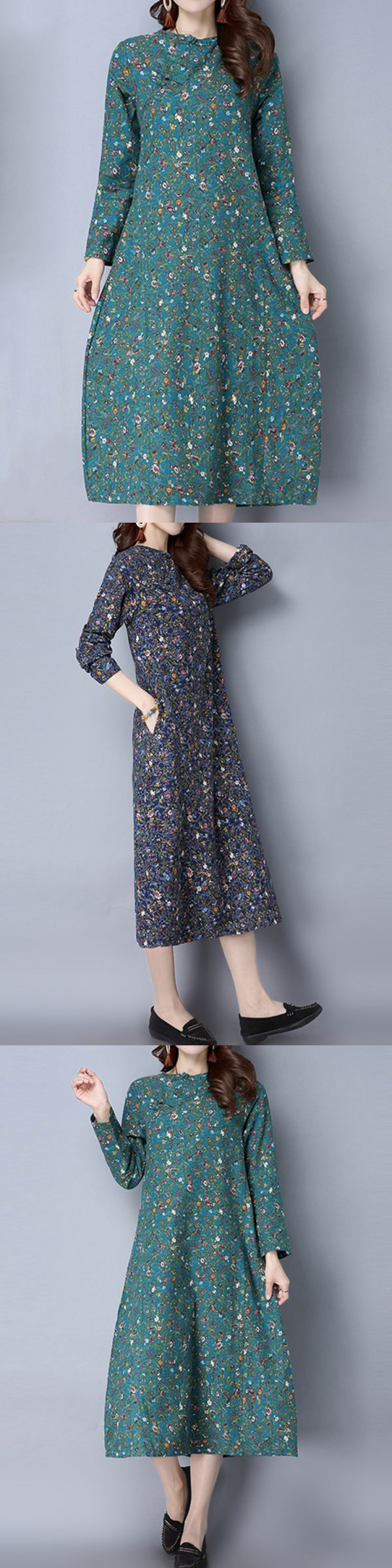 Floral dresses 2015 uk chinese style women floral printed plate buttons long sleeve vintage dresses #floral #dresses #for #sale #floral #dresses #ted #baker #floral #dresses #xl #floral #dresses #zalora