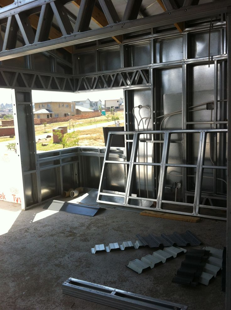 Steel Frame House - Upstairs TV lounge (16/10/12)
