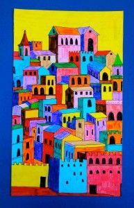 5 printable worksheet: Medieval Cities