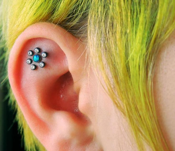 Flower Tattoo With Dermal Piercing: 17 Best Images About NeoMetal Body Jewelry On Pinterest