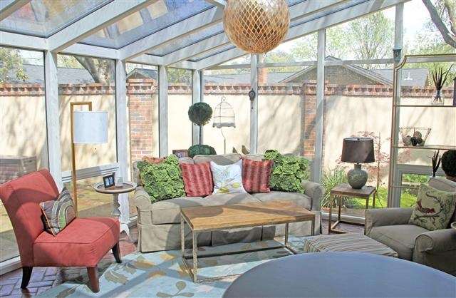 Sun Room - if/when we ever decide to enclose the back deck.