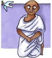 Il·lustració de Gandhi.