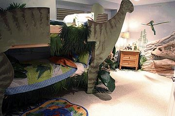 Decorating theme bedrooms maries manor dinosaur theme for Dinosaur themed kids room