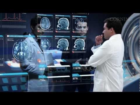 """""""A Day Made of Glass 2: Unpacked,"""" or how Corning's highly engineered glass, with companion technologies, will help shape our world. Healthcare > 6 min"""