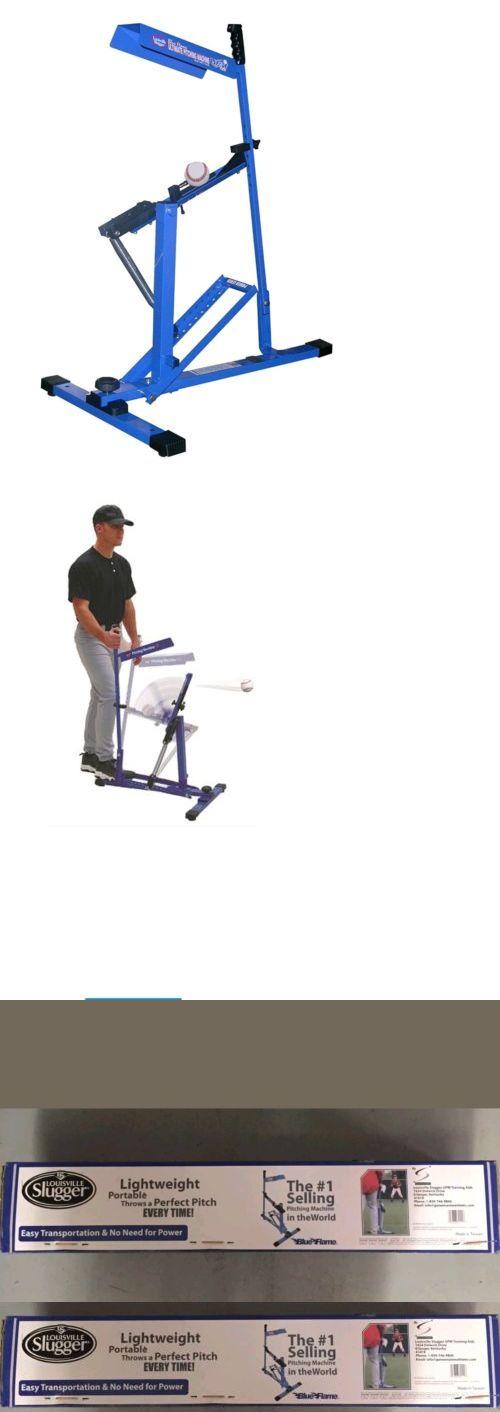 Pitching Machines 58061: New Louisville Slugger Upm 45 Blue Flame Baseball Softball Pitching Machine Nib -> BUY IT NOW ONLY: $146.99 on eBay!