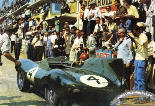 24h du mans 1957 - Jaguar type D - Hamilton/Gregory