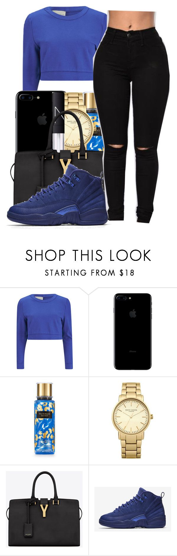 """Goosebumps✨~Travis scott"" by maiyaxbabyyy ❤ liked on Polyvore featuring Lavish Alice, Victoria's Secret, Topshop, NARS Cosmetics, Yves Saint Laurent and NIKE"