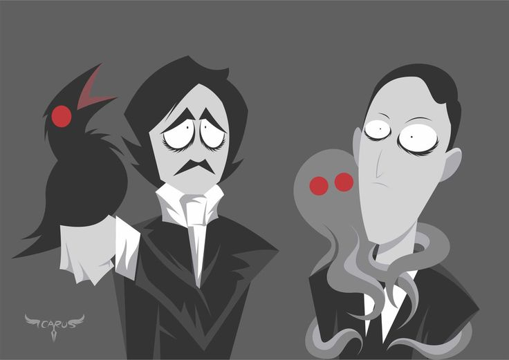 poe and lovecraft essay Lovecraft, in his essay,  unlike poe, lovecraft tends to end his stories mainly with the protagonist's mental destabilization 4) p 53,.