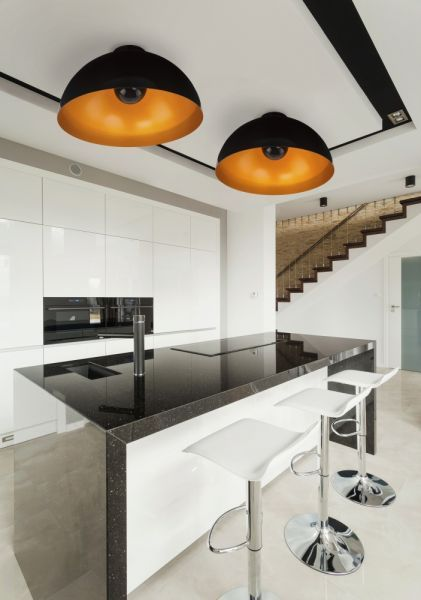HEMISPHERE CEILING BLACK-GOLD 6934 Nowodvorski Lighting - Lampy Nowodvorski - Autoryzowany sklep