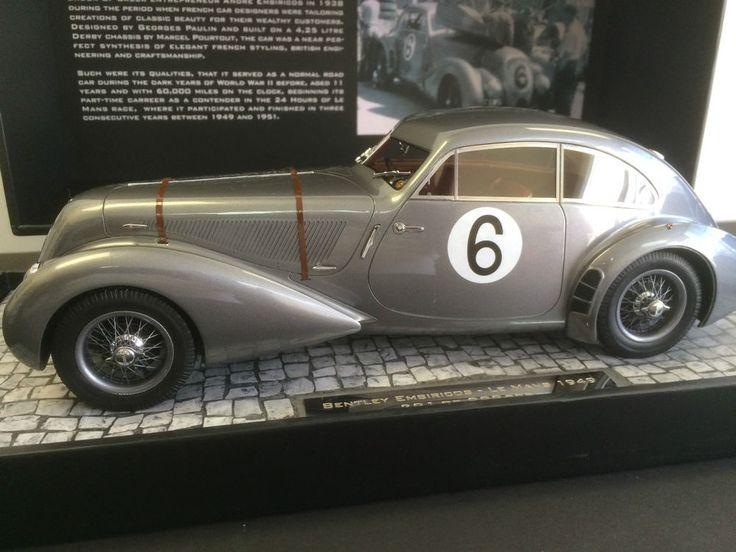 Minichamps 1949 BENTLEY Embiricos Corniche Hey/Wisdom Le Mans 1:18 *New Release! #MINICHAMPS
