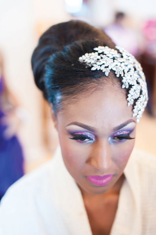 Enjoyable 1000 Images About African American Wedding Hairstyles On Pinterest Short Hairstyles Gunalazisus