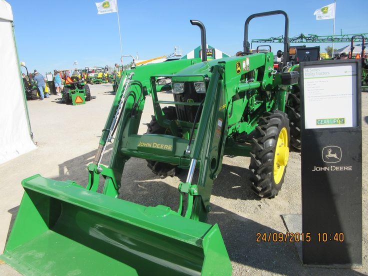 John Deere 5055E & H240 loader