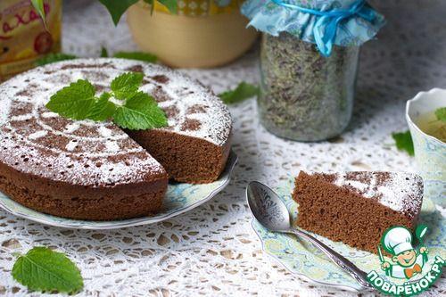 Шоколадный бисквит на горячем молоке - кулинарный рецепт
