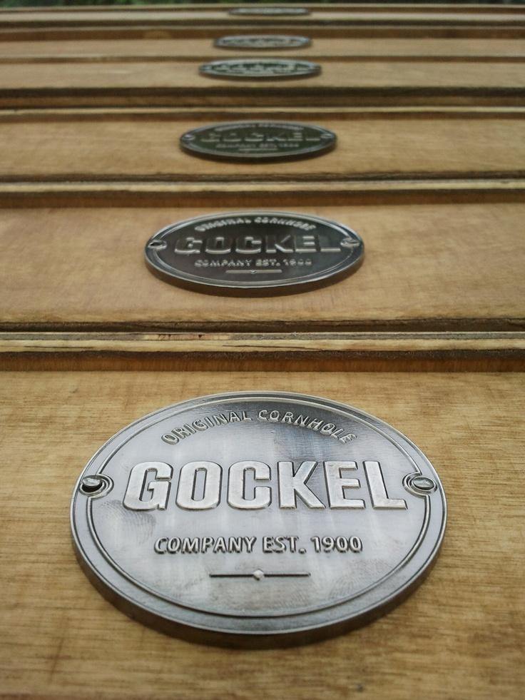 Our #cornhole #boards, finished with the Gockel quality characteristic. www.gockel-cornhole.com