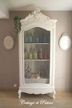 les 20 meilleures id es de la cat gorie armoire ancienne sur pinterest armoire cabinet grande. Black Bedroom Furniture Sets. Home Design Ideas
