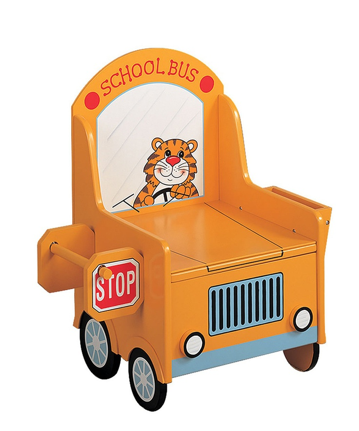 17 best images about kid s room on pinterest changing - School bus table and chair ...